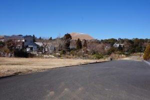 山焼き前の大室山