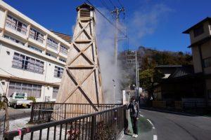 「国民宿舎伊豆熱川荘」の温泉やぐら