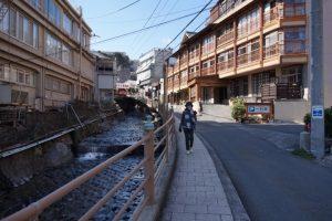 伊豆熱川温泉街