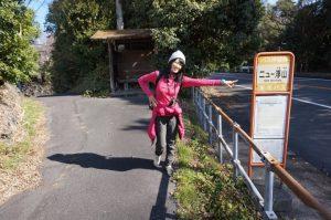 バス停「ニュー浮山」