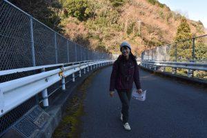 大倉橋を歩く