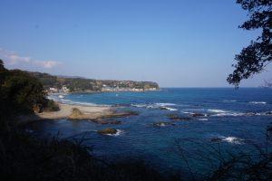 海沿いの遊歩道2